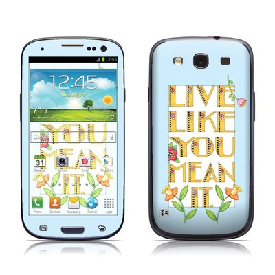 Samsung Galaxy S III Skin - Mean It