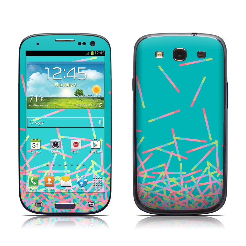 Samsung galaxy s iii skin pop rocks wands by carol van for Samsung wand