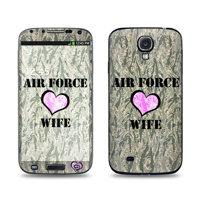 Samsung Galaxy S4 Skin - Air Force Wife