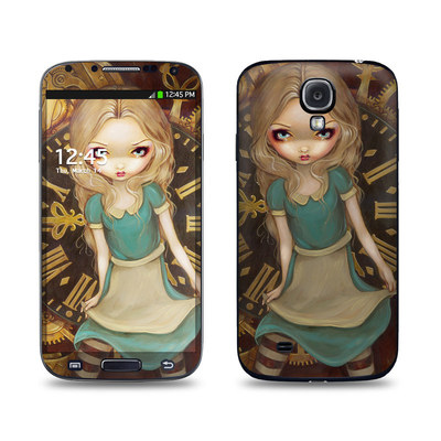 Samsung Galaxy S4 Skin - Alice Clockwork