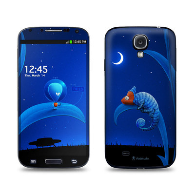 Samsung Galaxy S4 Skin - Alien and Chameleon