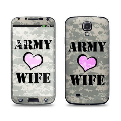 Samsung Galaxy S4 Skin - Army Wife