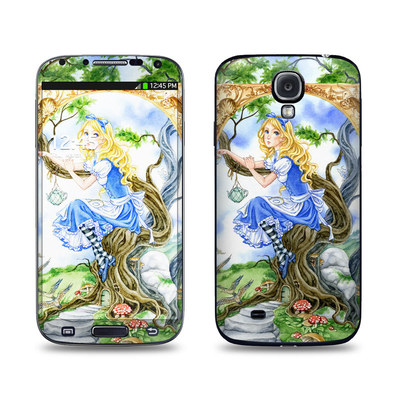 Samsung Galaxy S4 Skin - Alice's Tea Time
