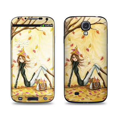 Samsung Galaxy S4 Skin - Autumn Leaves