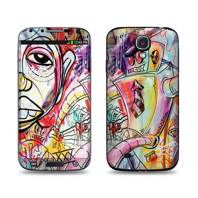 Samsung Galaxy S4 Skin - Battery Acid Meltdown