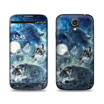 Samsung Galaxy S4 Skin - Bark At The Moon