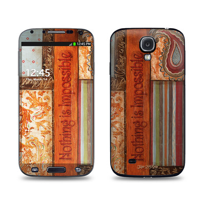Samsung Galaxy S4 Skin - Be Inspired