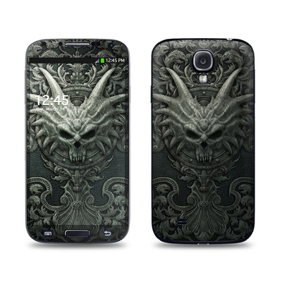 Samsung Galaxy S4 Skin - Black Book