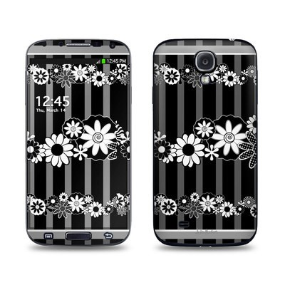 Samsung Galaxy S4 Skin - Black Retro