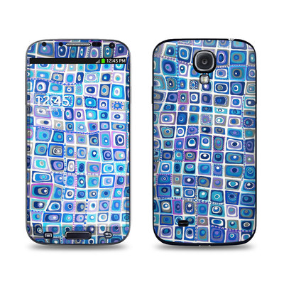 Samsung Galaxy S4 Skin - Blue Monday