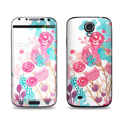 Samsung Galaxy S4 Skin - Blush Blossoms