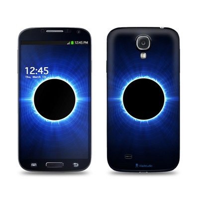 Samsung Galaxy S4 Skin - Blue Star Eclipse