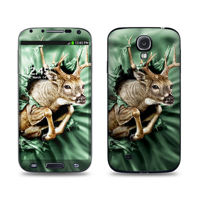 Samsung Galaxy S4 Skin - Break Through Deer