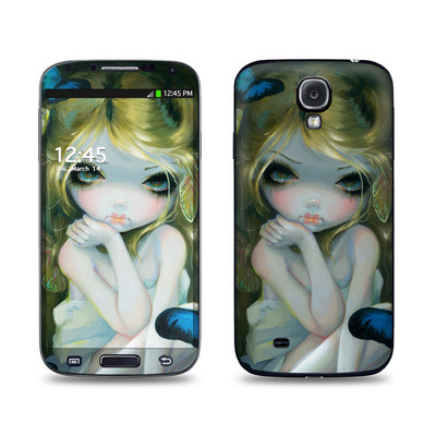 Samsung Galaxy S4 Skin - Butterfly Lily