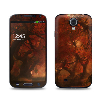 Samsung Galaxy S4 Skin - Canopy Creek Autumn