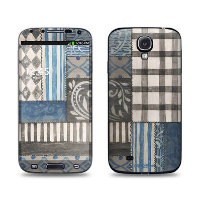Samsung Galaxy S4 Skin - Country Chic Blue