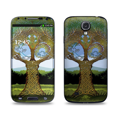Samsung Galaxy S4 Skin - Celtic Tree