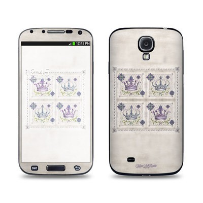 Samsung Galaxy S4 Skin - Purple Crown