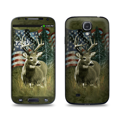 Samsung Galaxy S4 Skin - Deer Flag
