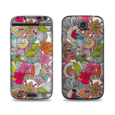 Samsung Galaxy S4 Skin - Doodles Color