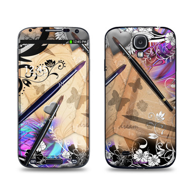 Samsung Galaxy S4 Skin - Dream Flowers