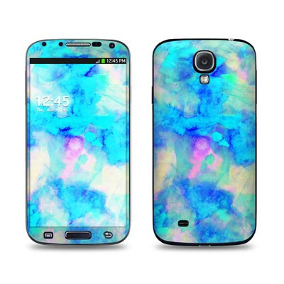 Samsung Galaxy S4 Skin - Electrify Ice Blue