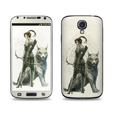 Samsung Galaxy S4 Skin - Half Elf Girl