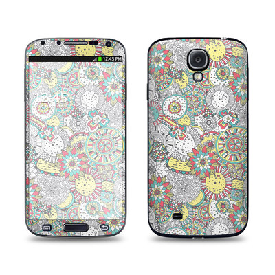 Samsung Galaxy S4 Skin - Faded Floral