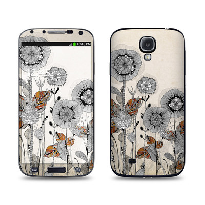 Samsung Galaxy S4 Skin - Four Flowers