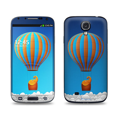 Samsung Galaxy S4 Skin - Flying Elephant