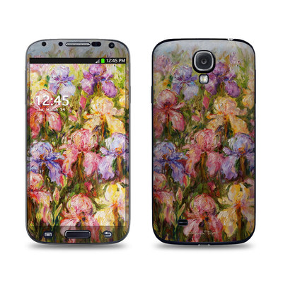Samsung Galaxy S4 Skin - Field Of Irises