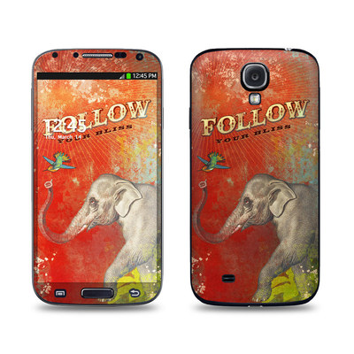 Samsung Galaxy S4 Skin - Follow Your Bliss