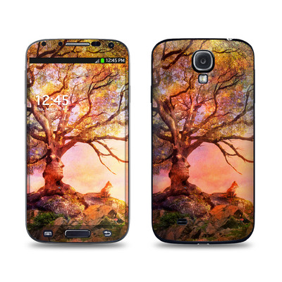 Samsung Galaxy S4 Skin - Fox Sunset