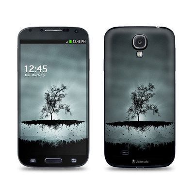 Samsung Galaxy S4 Skin - Flying Tree Black