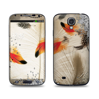 Samsung Galaxy S4 Skin - Feather Dance
