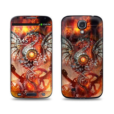Samsung Galaxy S4 Skin - Furnace Dragon