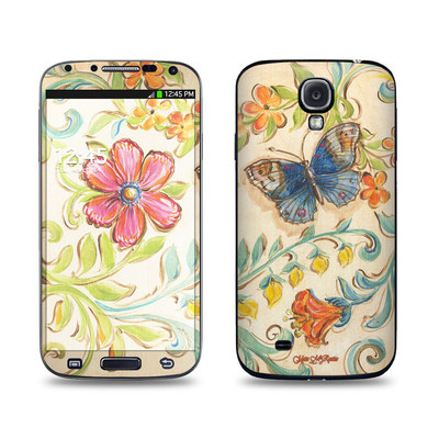 Samsung Galaxy S4 Skin - Garden Scroll