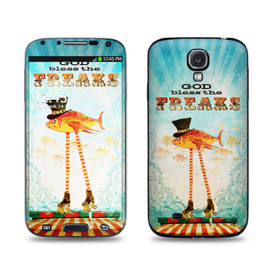 Samsung Galaxy S4 Skin - God Bless The Freaks