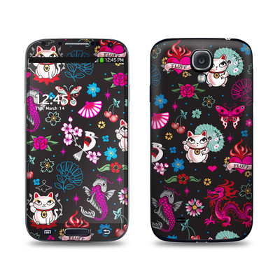 Samsung Galaxy S4 Skin - Geisha Kitty