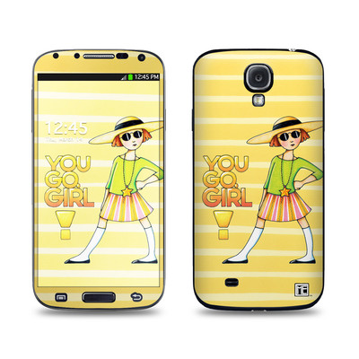 Samsung Galaxy S4 Skin - You Go Girl