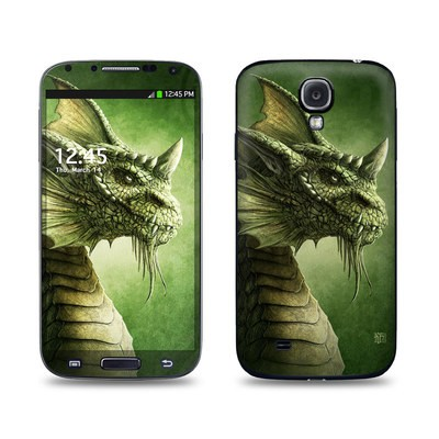 Samsung Galaxy S4 Skin - Green Dragon