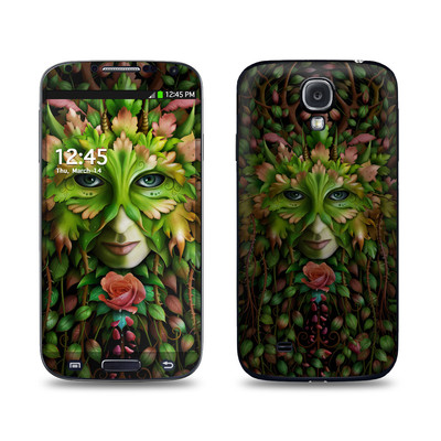 Samsung Galaxy S4 Skin - Green Woman