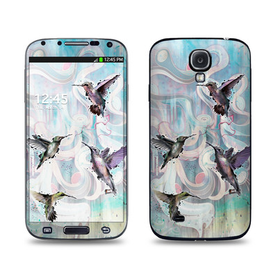 Samsung Galaxy S4 Skin - Hummingbirds