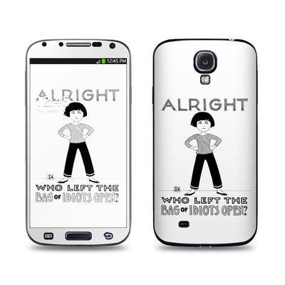 Samsung Galaxy S4 Skin - Bag of Idiots
