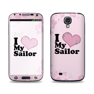Samsung Galaxy S4 Skin - I Love My Sailor