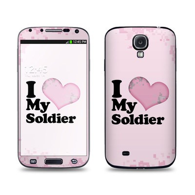 Samsung Galaxy S4 Skin - I Love My Soldier