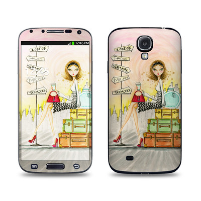 Samsung Galaxy S4 Skin - The Jet Setter