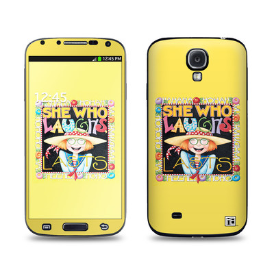 Samsung Galaxy S4 Skin - She Who Laughs