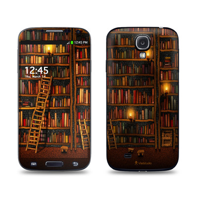 Samsung Galaxy S4 Skin - Library