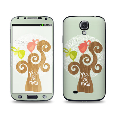 Samsung Galaxy S4 Skin - Two Little Birds